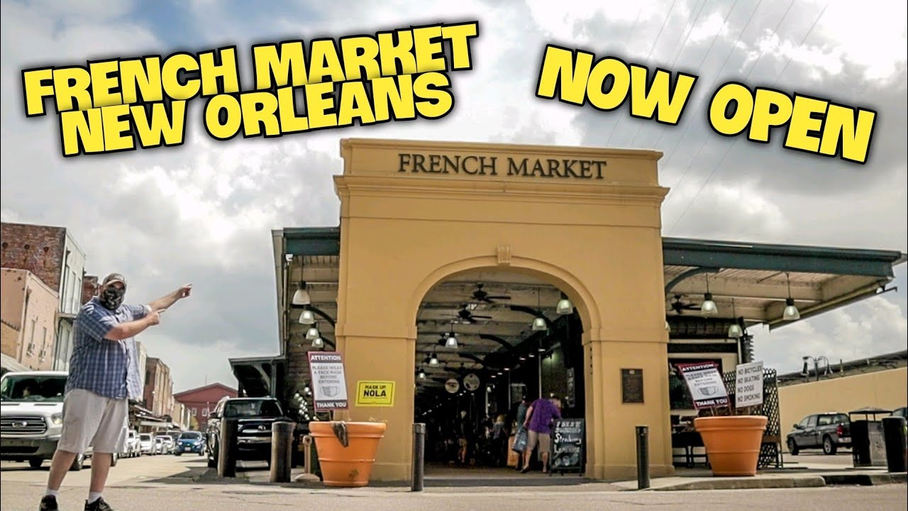 Spend the day outdoors at the French Market