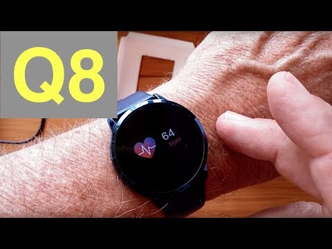 Newwear Q8 Smartwatch with Continuous Heart Rate and Blood Pressure Monitoring: Unboxing & Review