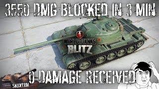 Type 59 - 3550 Dmg Blocked - 0 Dmg Received - Wot Blitz