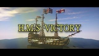 H.M.S Victory - the Ship in Minecraft! by Edinburgh and Sammb
