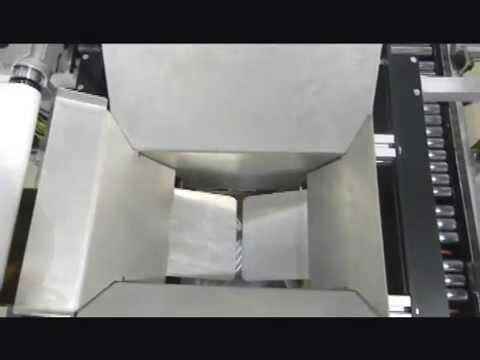 Formadora de Cajas 2EZ SB con Empacadora para Empacar bolsas de Tornillos