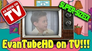 EvanTubeHD ON TV!!! Television Appearances Compilation [SUPER SIZE ME WEEK]