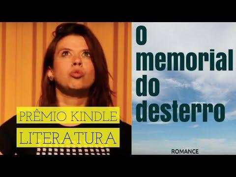 O Memorial do Desterro - vencedor Prêmio Kindle de Literatura