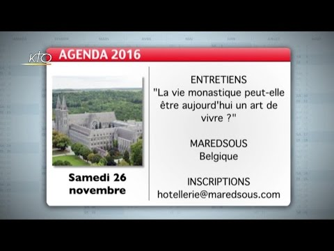 Agenda du 4 novembre 2016