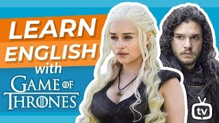 Learn English With Game Of Thrones | Jon Snow Meets Daenerys