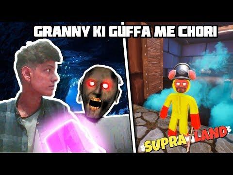 GRANNY KI GUFFA ME CHORI IN SUPRALAND || FUNNY ANDROID GAMEPLAY HINDI || PUBG || HORROR || EVIL NUN