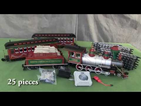 BAC90076 G White Christmas Express Train Set - Bachmann ...