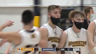 Highlights: Woodstock 49, Plainfield 36 in the ECC North boys basketball final