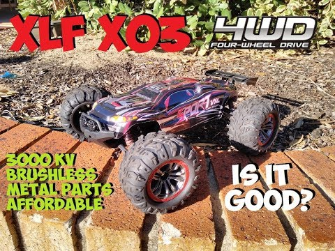 XLF X03 BRUSHLESS TRUGGY REVIEW