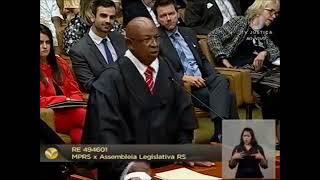 Sustentação oral do Dr. Hédio Silva Junior e o Recurso Extraordinário (RE) 494601 STF