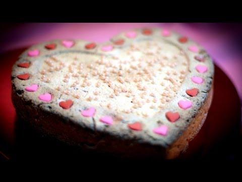 Valentine's Day Sand Cake - Walentynkowe Ciasto Piaskowe -  Recipe #77