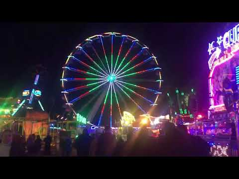 Hull Fair Walkthrough Final Night Saturday 12th October