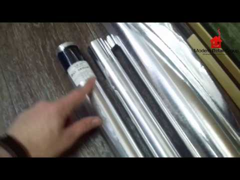 Обзор алюминиевой фольги для бани