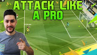 FIFA 16 ATTACK LIKE A PRO TUTORIAL - EASY & EFFECTIVE ATTACKING TRICK + DIVISION 1 TIPS & TRICKS