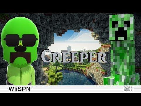 Mii Maker: How To Create Creeper!