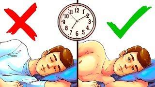 8 Простых Способов Наконец-то Выспаться