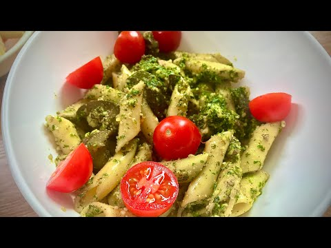 How to make Penne with Eggplant and Mint Pesto