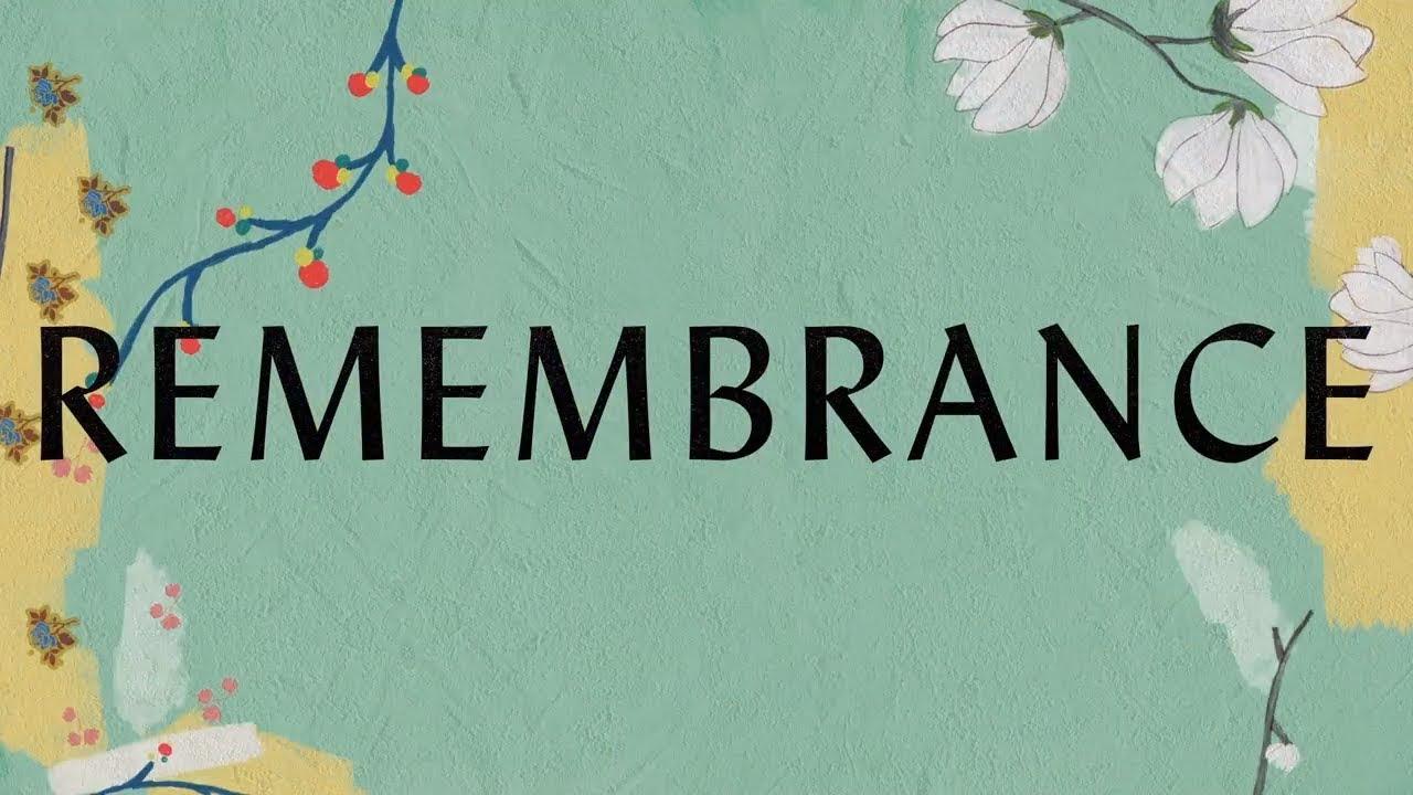 Remembrance Lyric Video - Hillsong Worship - YouTube