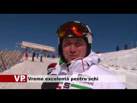 Vreme excelentă pentru schi