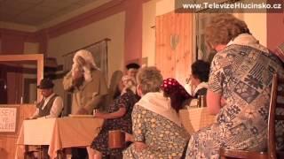 preview picture of video 'Velké Hoštice: divadelní vystoupení (21.4.2013) │ www.TelevizeHlucinsko.cz'