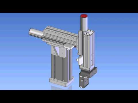 Examples of Electric Linear Actuator and Guide - Esempi di attuatore e guida lineari elettrici