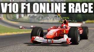 Assetto Corsa - AWESOME V10 F1 Online Race