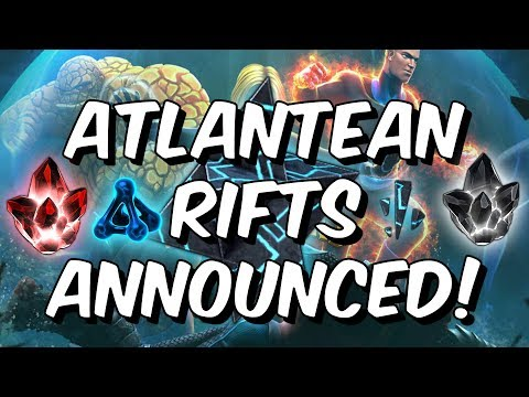 Atlantean Rifts Announced! - Stable VS Unstable? - Marvel Contest of Champions