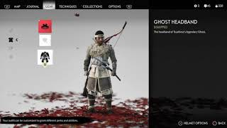 Ghost Of Tsushima All Costumes Unlocked