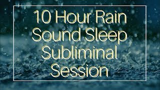Become Extremely Polite and Charismatic - (10 Hour) Rain Sound - Sleep Subliminal - By Thomas Hall