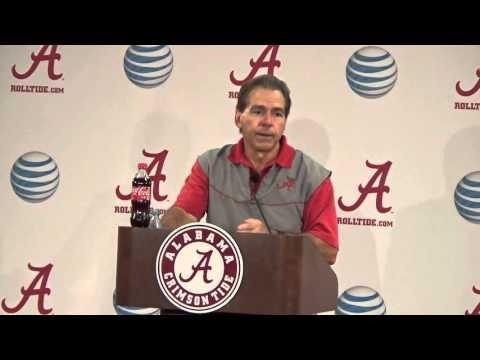 Stephen's Report: Coach Saban presser on LSU (11/4/15)