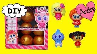 Caja LOL disfrazada de Distroller con sorpresas | Muñecas y juguetes con Andre para niñas y niños