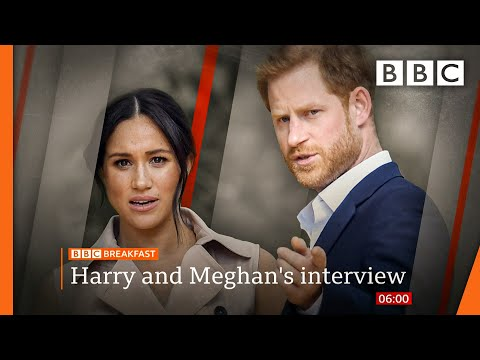 Tabloid racism 'large part' of why we left UK ???? Oprah: Harry and Meghan @BBC News live - BBC