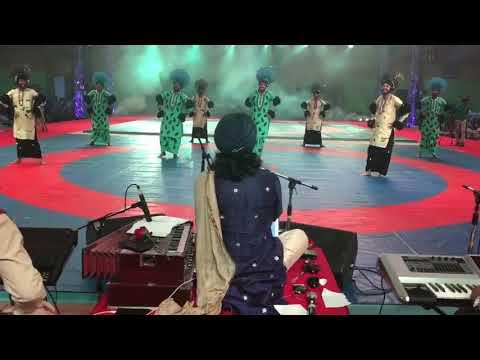 SATINDER SARTAAJ - Boliyan ,Tappe Folk of Haryana & Punjab At Panipat Sports Event