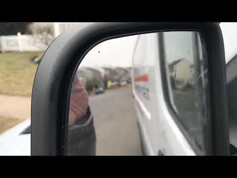 Sprinter door mirror replacement