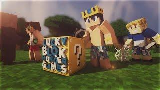 BURAK ABİ EMRECANI ÖLDÜRDÜ !!! | Minecraft | Şans Bloklu Hunger Games | Bölüm -4 | ft.Burak Oyunda