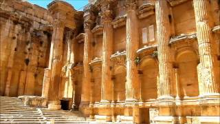 preview picture of video 'LEBANON: Temple of Bacchus, Baalbek'