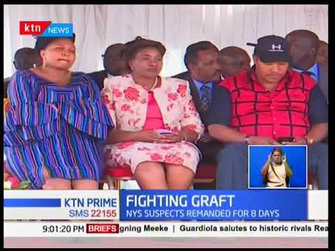 President Uhuru's tough warning to those implicated in corruption