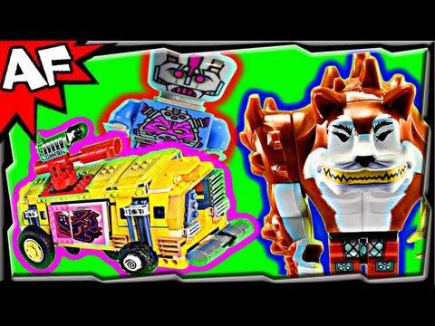 Vidéo LEGO Tortues Ninja 79104 : La course-poursuite en Shellraiser