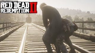 Red Dead Redemption 2 Saving Drunk Preacher, Reverend Swanson (Who is Not Without Sin)