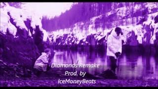 Yung Lean & Thaiboy Digital   Diamonds (Instrumental) Remake