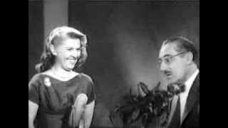 You Bet Your Life #57-20 Francis X. Bushman; Groucho learns about 'snogging' ('Chair', Feb 6, 1958)