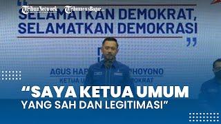 Reaksi AHY Setelah Moeldoko Ditetapkan Jadi Ketua Umum di KLB: Saya Ketum yang Sah dan Legitimasi