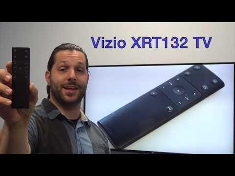 VIZIO XRT132 Basic TV Remote Control