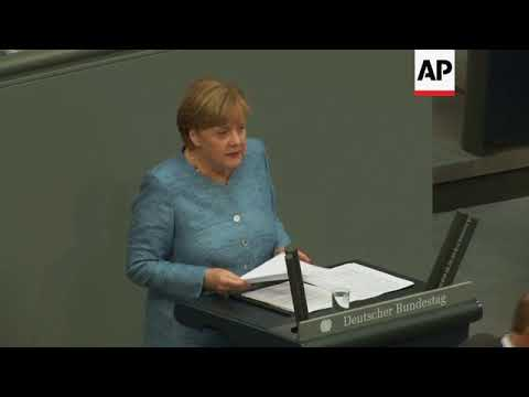 Merkel: It would be wrong to pull out of Iran nuclear deal