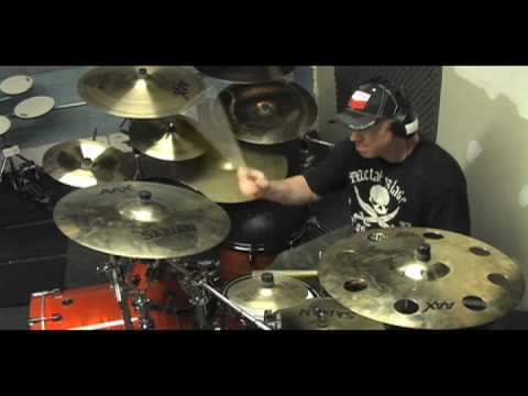 Richard Christy of Charred Walls of the Damned Talks & Demonstrates Gear for CWOTD's July 2010 Tour