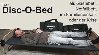 Das beste Notfallbett - Disc-O-Bed