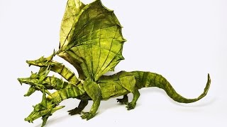 Top 10 Most Amazing Origami Dragons Of All Time - 2016