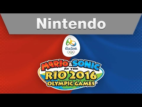 Видео № 0 из игры Mario & Sonic at the Rio 2016 Olympics Games [3DS]