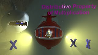 Distributive Property Of Multiplication - 3rd Grade Math Videos