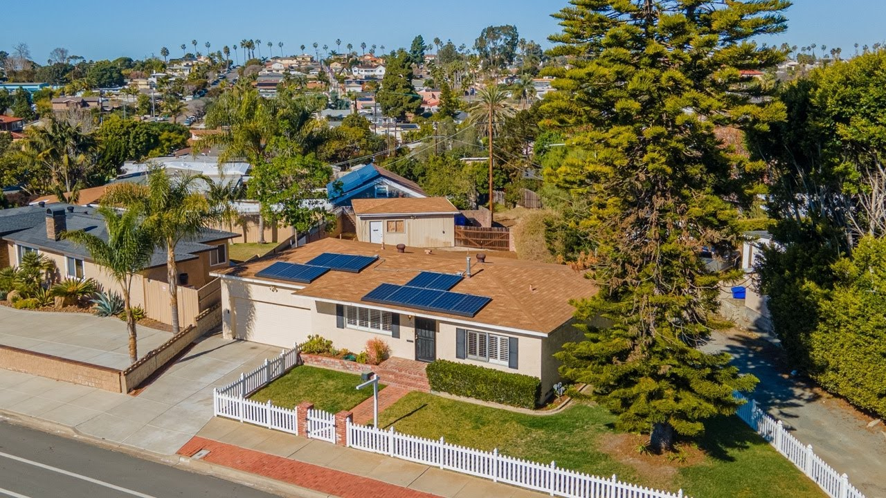 Dual Garage Home on Large Point Loma Lot
